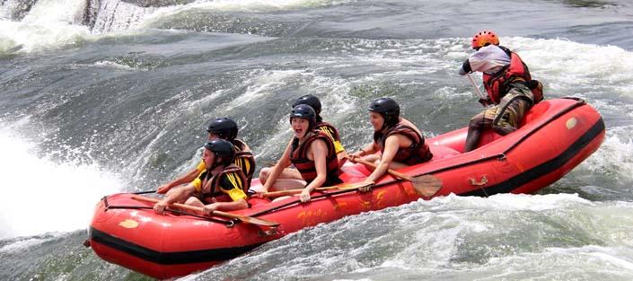 1 Day Uganda White Water Rafting Safari