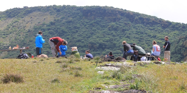 Virunga Mountains Hike