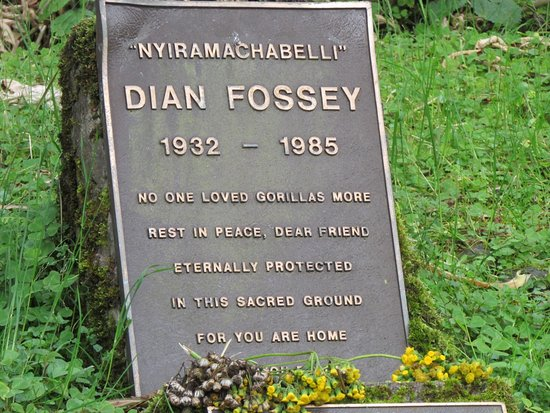 Tomb of Dian Fossey