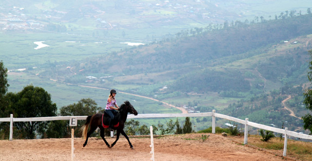 Horse Riding at Mount Kigali