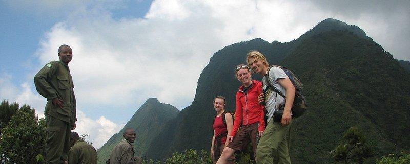 Hiking Virunga Mountains